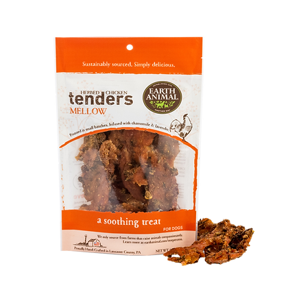 Earth Animal Herbed Chicken Tenders Mellow 4oz