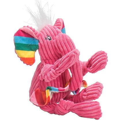 HuggleHounds Knottie Rainbow Elephant