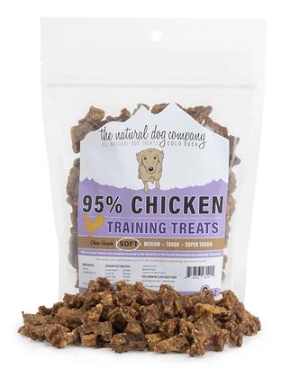 The Natural Dog 95% Chicken Training Bites 6oz