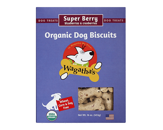 Wagatha's Super Berry Biscuits 16oz