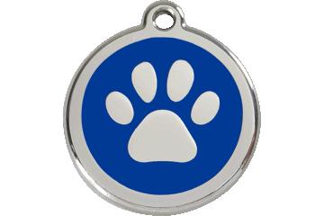 Red Dingo ID Tag