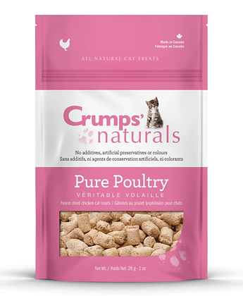 Crumps Pure Poultry Cat Treats 28g
