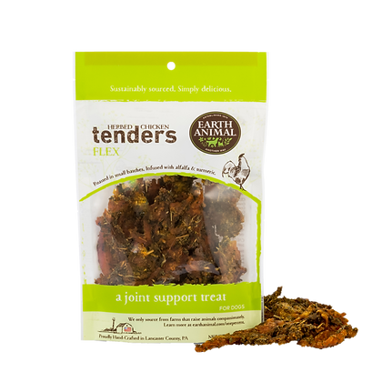Earth Animal Herbed Chicken Tenders Flex 4oz
