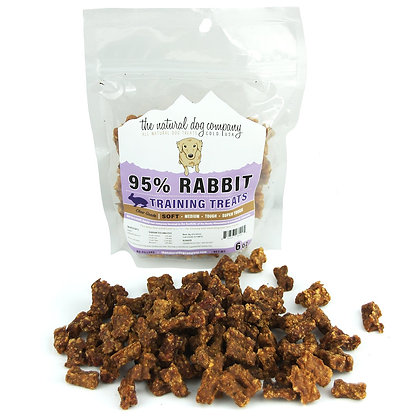The Natural Dog 95% Rabbit Training Bites 6oz