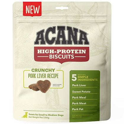 Acana High-Protein Biscuits Crunchy Pork Liver Recipe 9oz