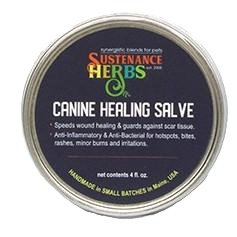 Sustenance Herbs Canine Healing Salve 4oz