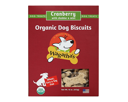 Wagatha's Cranberry Cheddar & Mint Biscuits 16oz