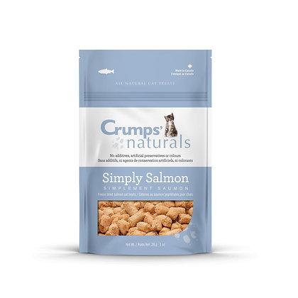 Crumps Simply Salmon Cat Treats 28g