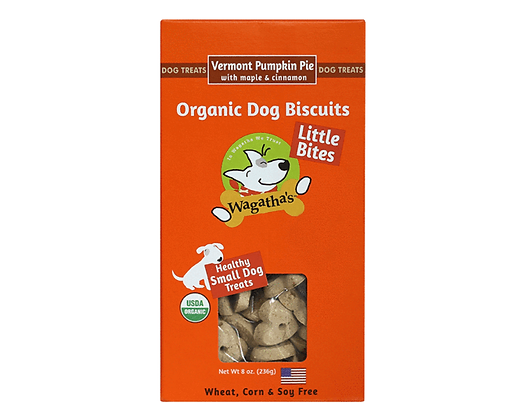 Wagatha's Little Bites Vermont Pumpkin Pie 8oz
