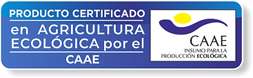 PRODUCTO CERTIFICADO CAAE | GREEN UNIVERSE AGRICULTURE