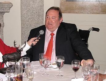 Manuel Silvela, conde del Castillo de la Vera, nos agradece el reconocimiento (Fotografía: José María García Medina)
