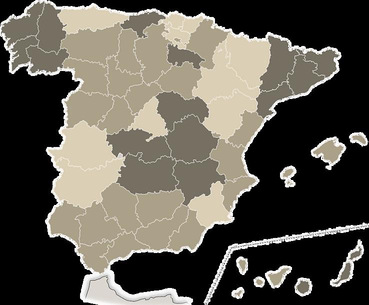 Mapa España por Comunidades