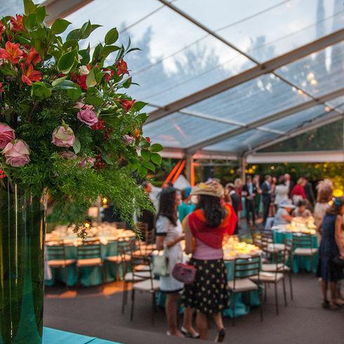 Centros de flores para eventos / Flower Centerpieces for events