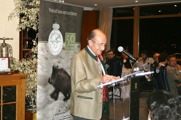José Madrazo Ambrosio se confesó muy honrado y orgulloso de recibir esta consideración (Fotografía: Santiago Segovia Pérez)