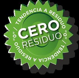 Sello TENDENCIA A RESIDUO CERO GREEN UNIVERSE