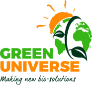 Logo GREEN UNIVERSE Making new bio solutions