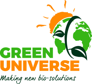 Logo GREEN UNIVERSE Making new bio solutions