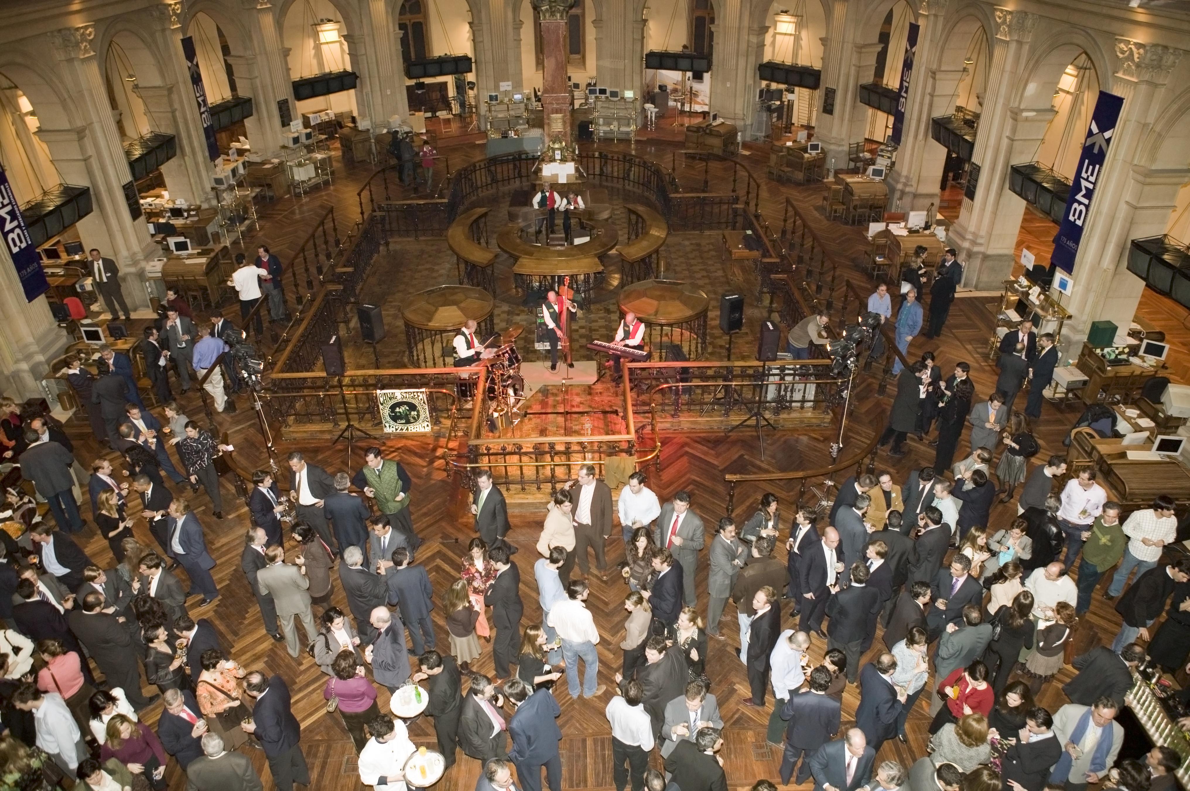 EVENTO BME Futuro Ibex 35 XV Aniversario. Palacio de la Bolsa
