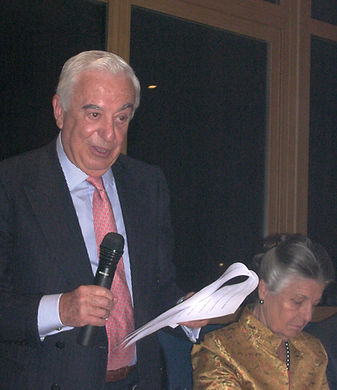 Laurentino Carrascosa, agradeciendo este galardón (Fotografía: José María García Medina)