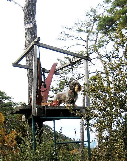 Una torreta es una buena medida de seguridad (Fotografía: Santiago Segovia Pérez)