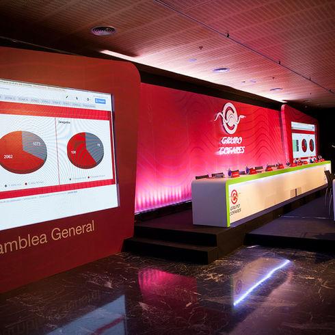 Cofares Asamblea General Casa América Bubbles eventos
