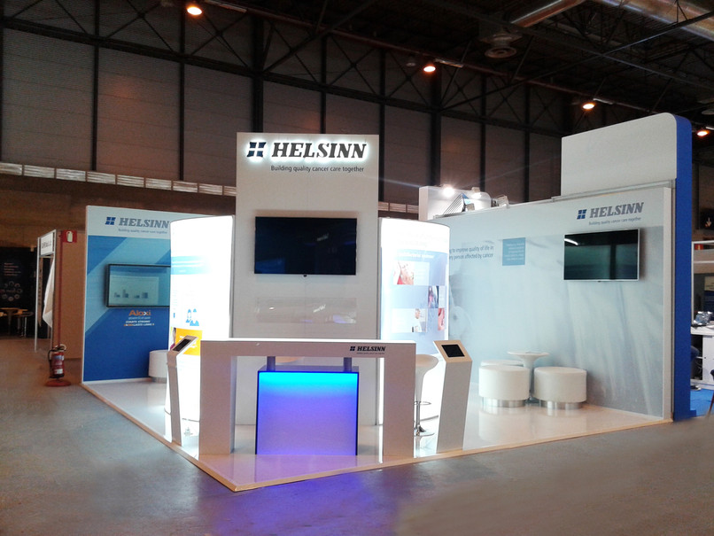Booth / Stand Helsimm Healthcare at/en ESMO 2014, by Di&P