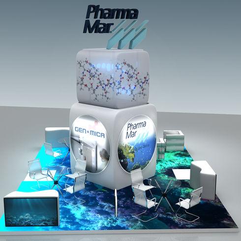 Pharmamar Stand BioSpain 2016 Bilbao 3D