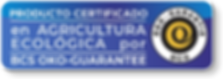 PRODUCTO CERTIFICADO BCS OKO-GUARANTEE | GREEN UNIVERSE AGRICULTURE