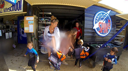 Tarifa Spin Out Spain Kids Courses Windsurf Kitesurf
