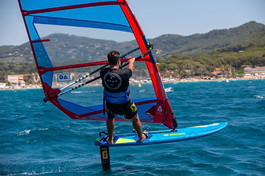 TARIFA SPIN OUT Windsurf Foil lessons Tarifa Spin Out