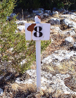 Correcta señalización de una mancha abierta (Fotografía: Santiago Segovia Pérez)