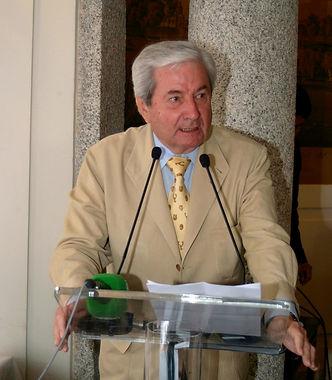 Iñigo Moreno de Arteaga, marqués de Laserna, pronunciando su discurso(Fotografía: Cesáreo Martín Martínez)