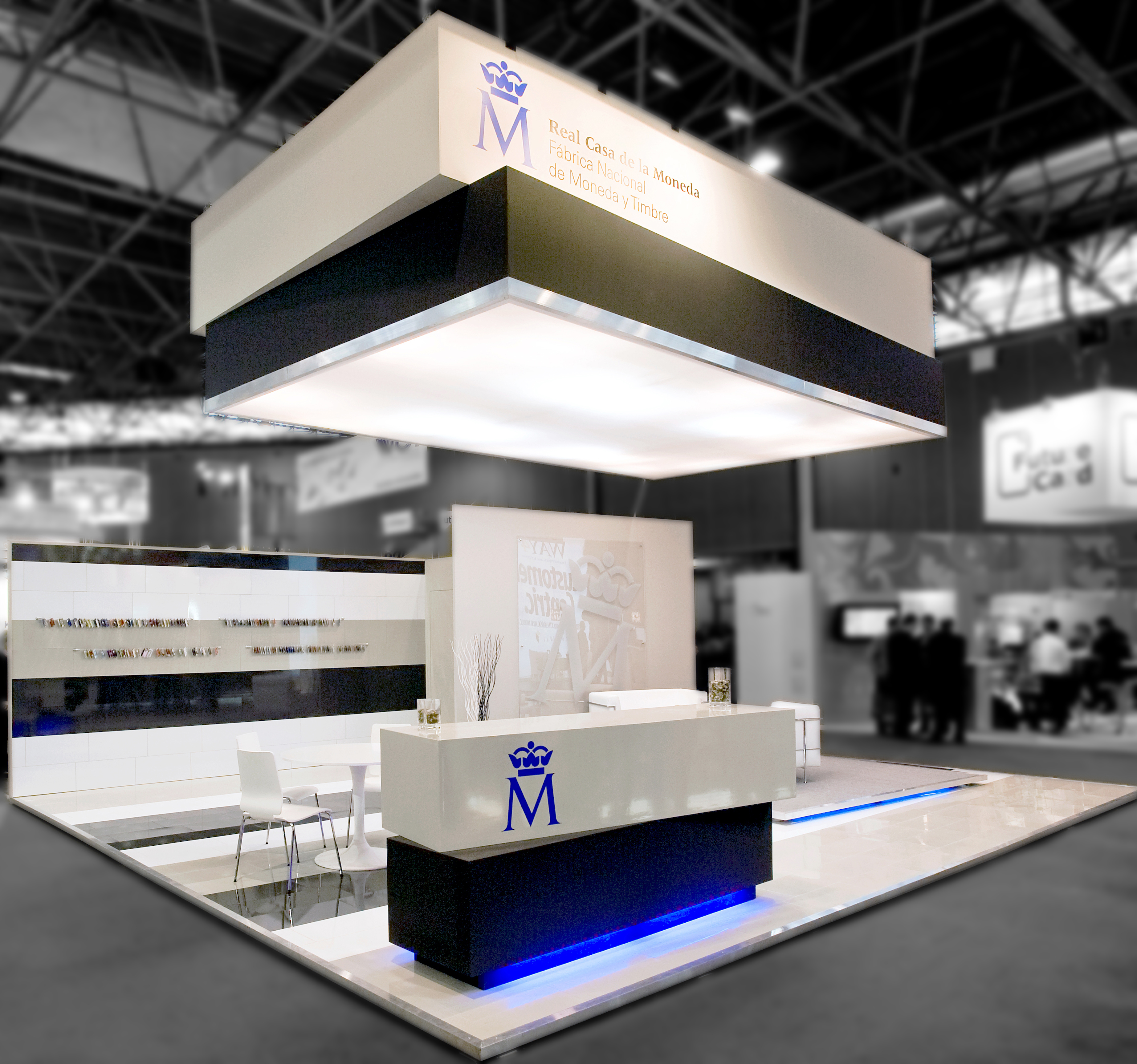 Exhibition Custom Stand Design And Build Di P Madrid Spain