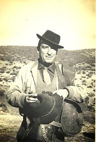 Jaime de Foxá de montería el 25 noviembre 1962. (Fotografía: César Fernández de la Peña) Real Club de Monteros
