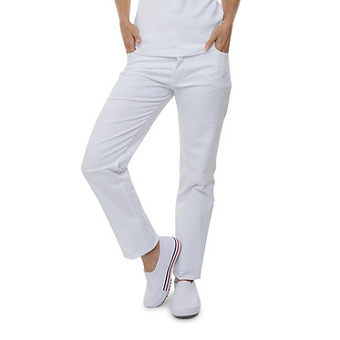 Calça 5 Bolsos Branca
