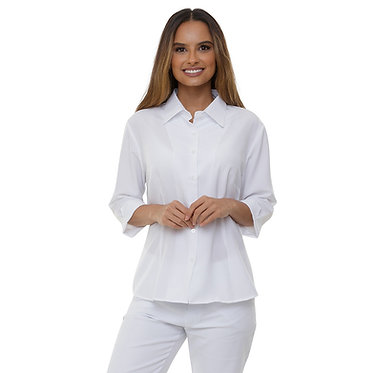 Camisa Social Feminina Microfibra