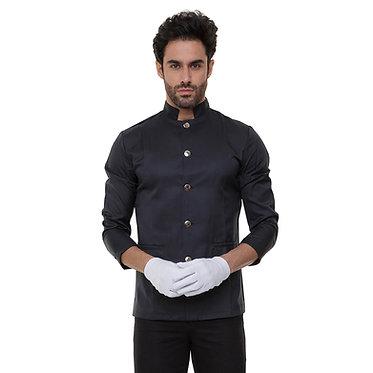 Camisa de Copeiro Preta