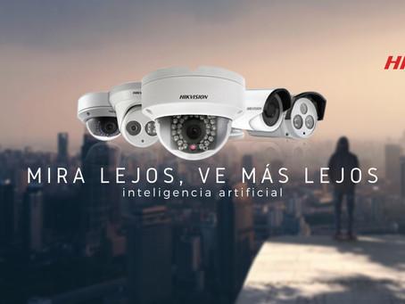 La Seguridad es fácil si viene de Eixer Solutions, la más moderna y avanzada tecnología Hikvision.