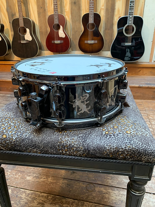 """Mapex Kung Fu Black Panther 14x5,5"""" Stainless Steel"""