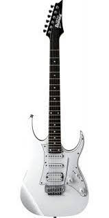 Gitarrpaket 4; Ibanez GRG140-WH, Vox VT20X, kabel, axelband