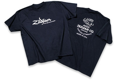 Zildjian T3003 Black Classic T-shirt - Large