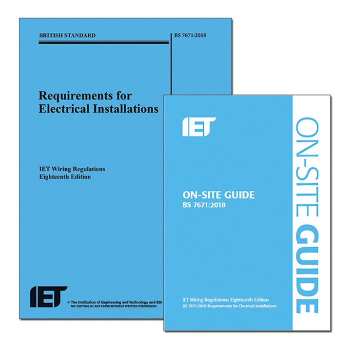 18TH EDITION WIRING REGULATIONS (BS7671)