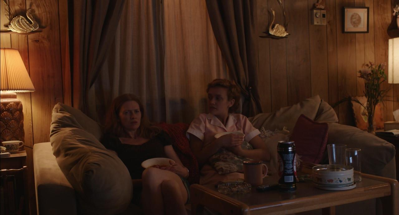 Scene 20 INT KATIE'S TRAILER - LIVING RO