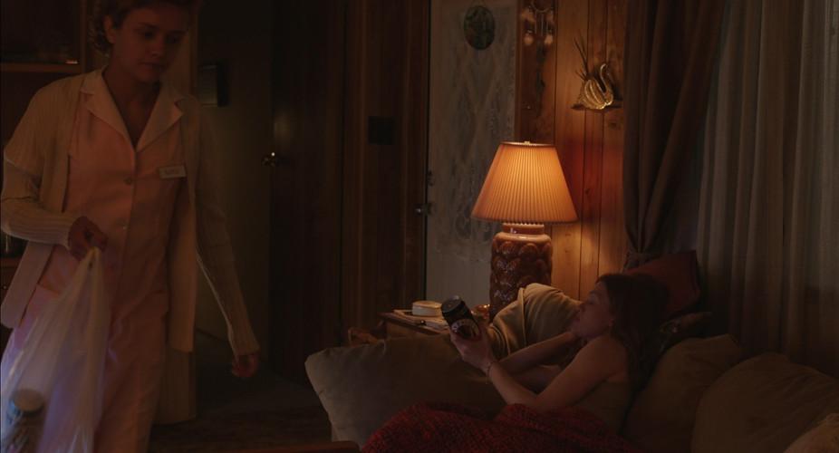 Scene 7 INT KATIE'S TRAILER - LIVING ROO