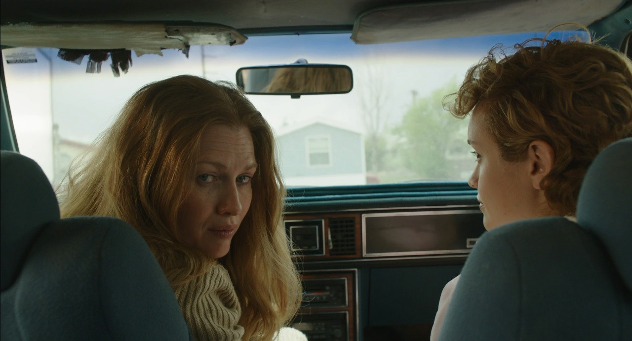 Scene 30 INT EXT TRACEY'S CAR DAY Car Wo
