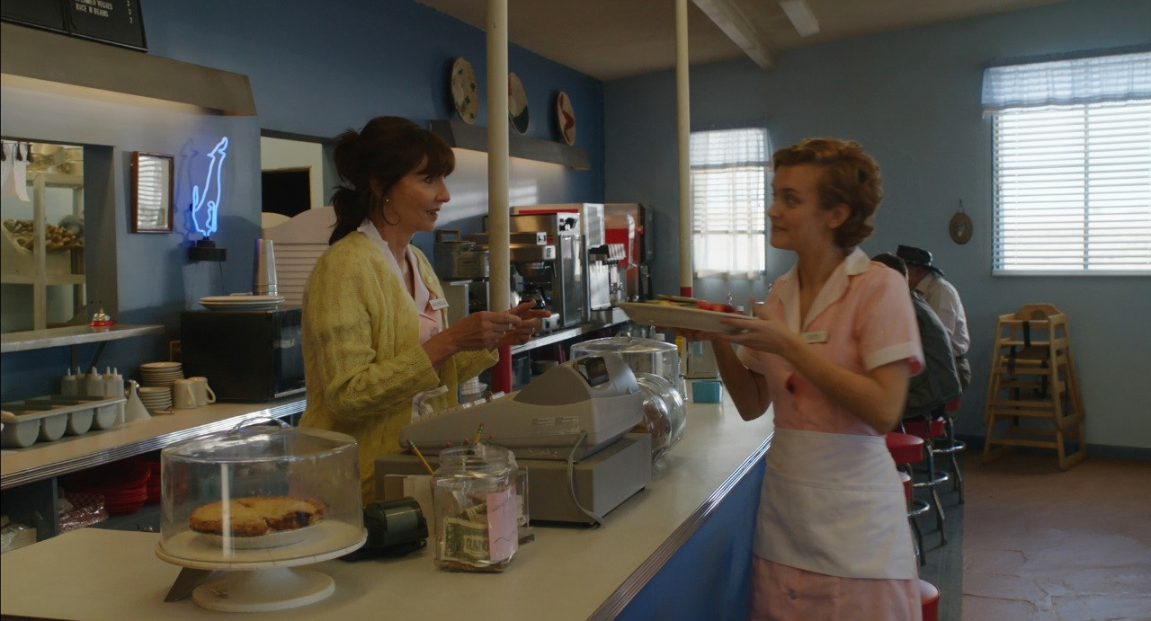 Scene 53 INT DINER DAY Katie Tells Maybe