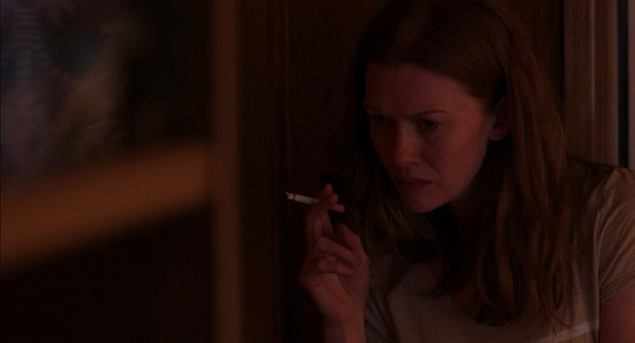 Scene 61 INT KATIE'S TRAILER - LIVING RO