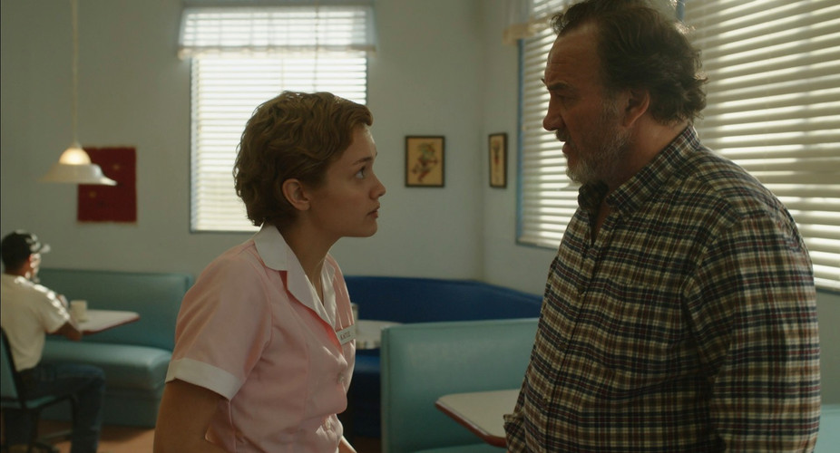 Scene 94 INT DINER DAY Katie Asks Bear T