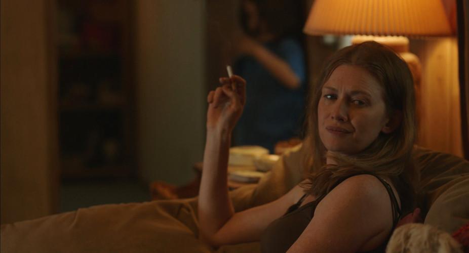 Scene 27 INT KATIE'S TRAILER - LIVING RO