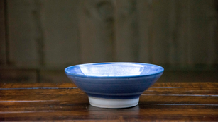 Bowl with high foot